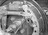 10.10 Тормозной барабан заднего тормоза Audi A6