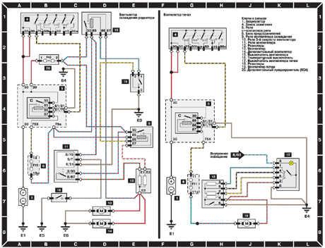 13.2.3 Вентилятор охлаждения радиатора и вентилятор печки