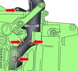 4.2 Снятие и установка двигателя Audi A8