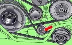 5.4 Поликлиновой ремень Audi A8