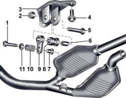 11.3 Система выпуска отработавших газов Audi A8