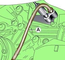 14.3 Удаление воздуха из гидравлического привода сцепления