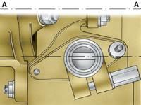 4.5 Установка привода распределителя зажигания на двигателях мод. 331 и 3317 АЗЛК 2141