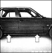 1.34 Проверка состояния и замена шин BMW 3 (E30)
