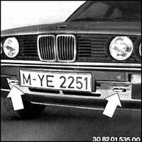 1.32 Правила буксирования BMW 3 (E30)
