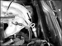 2.10 Проверка уровня жидкости в автоматической трансмиссии