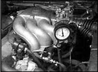 6.11 Проверка давления топлива BMW 3 (E30)