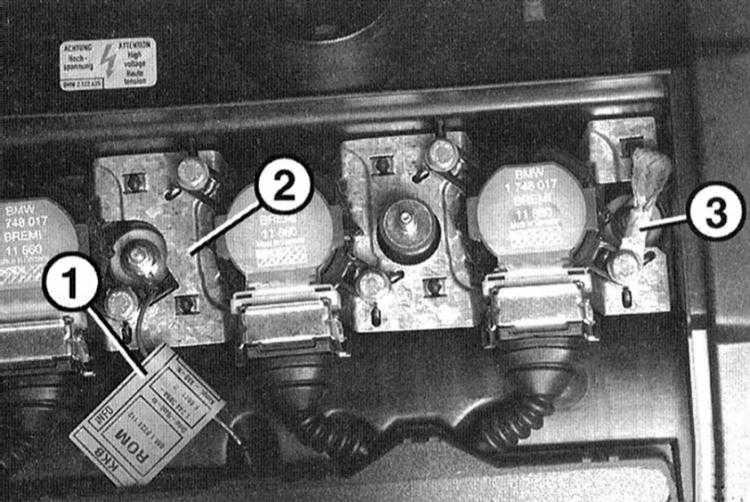 как проверить катушку зажигания на бмв е46