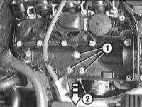6.7.7 Снятие и установка выпускного коллектора