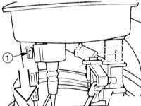 6.2 Снятие и установка датчика запаса топлива/топливного насоса BMW 3 (E46)