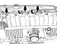 6.7.6 Снятие и установка датчика кислорода
