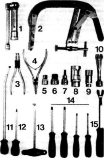 25.0 Инструменты и приспособления