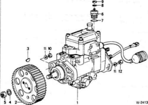 8.0 Система впрыска топлива — дизельные двигатели