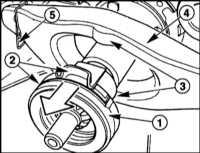 10.1.3 Снятие и установка механизма выключения сцепления