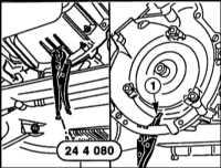 8.1 Снятие и установка РКПП и АТ BMW 5 (E39)