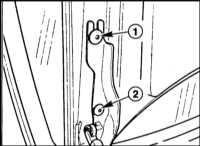 13.15 Регулировка положения крышки багажника BMW 5 (E39)