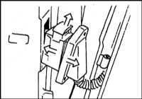 13.20 Снятие, установка и регулировка двери BMW 5 (E39)