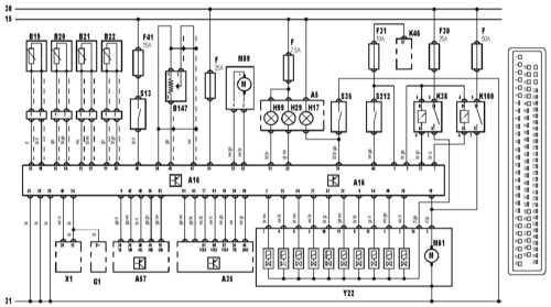 15.30 Система антиблокировки тормозов и разъем блока управления ABS. Все модели
