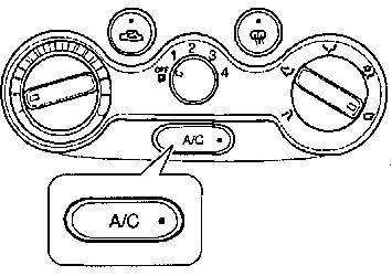 1.9.2 Система кондиционирования воздуха(опция) Chevrolet Aveo