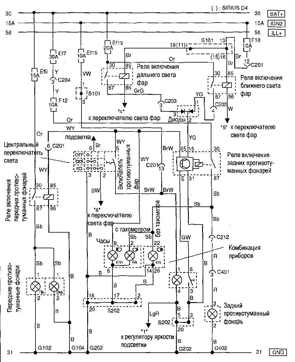схема акпп шевроле авео 1,6