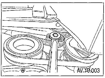 10.5 Снятие, проверка и установка генератора