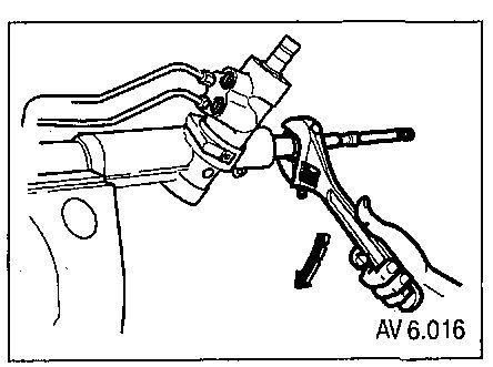 6.5 Снятие и установка реечного механизма