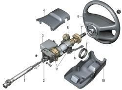 11.2 Рулевое управление с электромеханическим усилителем