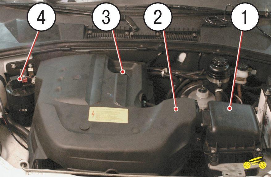 номер двигателя шевроле нива