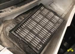 2.6 Замена фильтра поступающего в салон воздуха