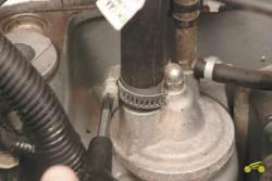 4.7 Очистка системы вентиляции картера
