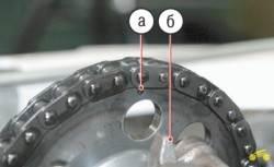 4.9 Установка поршня четвертого цилиндра в положение ВМТ такта сжатия