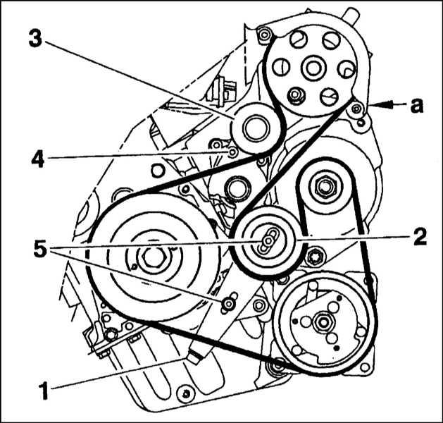 замена ремня генератора ситроен с5