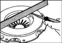 8.4 Снятие, проверка состояния и установка сборки сцепления Citroen Xantia