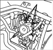 12.8 Снятие, капитальный ремонт и установка клапана управления Citroen Xantia