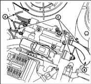 12.15 Снятие и установка компонентов системы антиблокировки тормозов Citroen Xantia