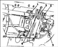 13.5 Снятие и установка компонентов стабилизатора поперечной устойчивости передней подвески