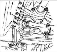 13.8 Снятие и установка подрамника передней подвески Citroen Xantia