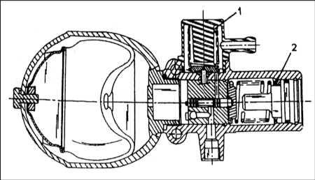 11.6 Ресиверы гидравлической жидкости - общие сведения, снятие и установка