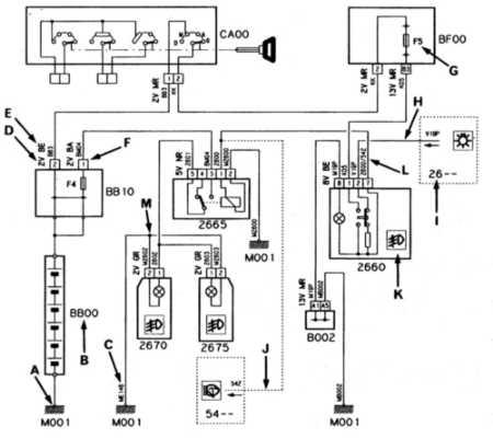 16.0  Схемы электрооборудования