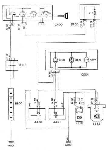 16.33 Указатель износа тормозных накладок/датчик-выключатель работающий