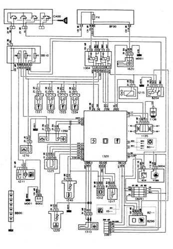 16.5 Системы впрыска и зажигания - двигатель XU5/XU7, MAGNETI MARELLI