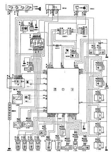 16.8 Системы впрыска и зажигания - двигатель XU10J4, BОSCH MP 3.2