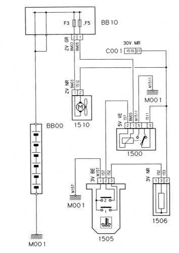 16.12 Вентилятор системы охлаждения дизельного двигателя (модели без турбонаддува)