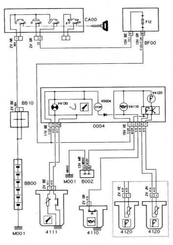 16.30 Система контроля за температурой, уровнем и давлением двигательного масла