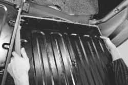 11.12.4 Снятие и установка заднего сиденья Daewoo Lanos