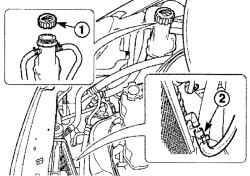3.2.4 Замена охлаждающей жидкости Daewoo Matiz