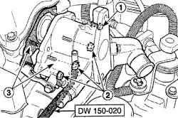 3.2.9 Корпус термостата / распределителя зажигания Daewoo Matiz
