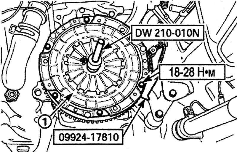 Схема устройства abs