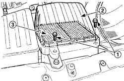 2.5.3 Замена воздушного фильтра Daewoo Matiz