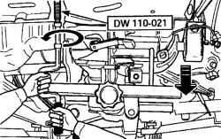 4.2.4 Снятие и установка коробки передач Daewoo Matiz
